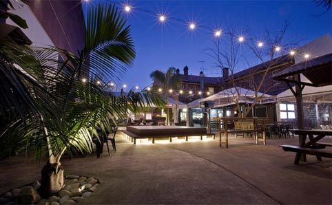 Watch the match at Alexandria Hotel. It's Tropical family friendly beer garden with lots of character. Find more best places to watch the World Cup in Australia: http://pin.it/7HWwkkH