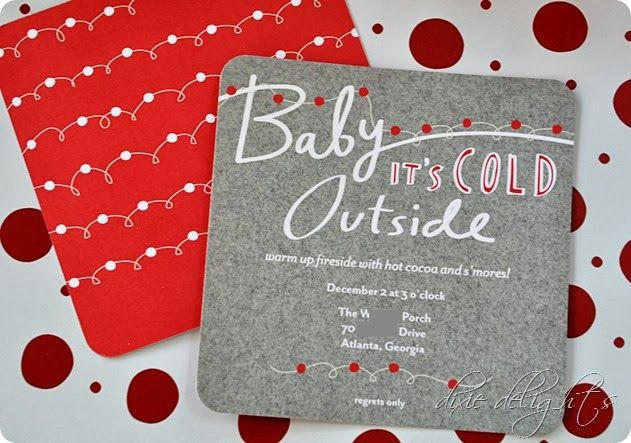 Printable Invitations Holiday