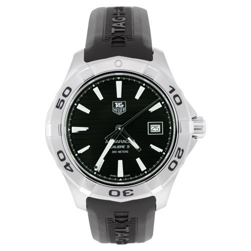 TAG Heuer Men's WAP2010.FT6027 Stainless Steel Analog with Stainless Steel Bezel Watch by Tag Heuer @ TAG-Heuer-Watches .com
