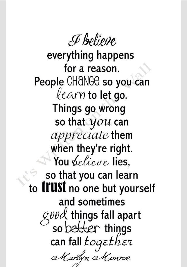 I believe~Marilyn Monroe quotes I love Appreciation Life Quotes, Good Woman Quotes, Life Sayings And Quotes, Quotes On T...