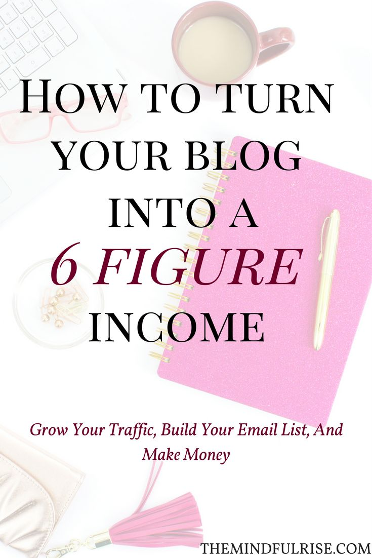 Want to earn 6 figures from your blog? If you want to turn your blog into a full time income you first have to learn the tools to grow your traffic by using social media and writing engaging content, building relationships with other bloggers. Then we can learn to make money blogging and use email marketing and growing our email list to do so.