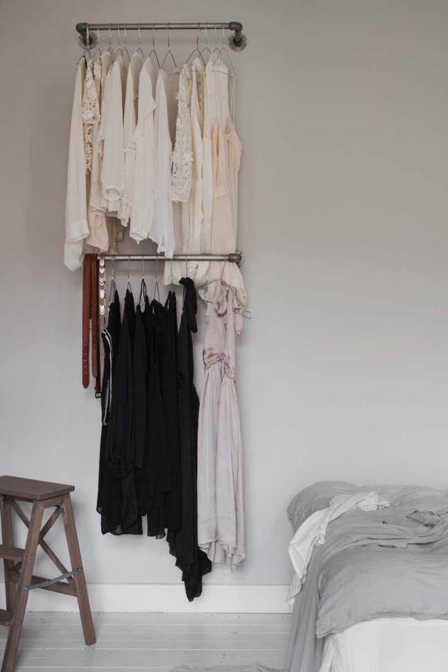 M s de 25 ideas fant sticas sobre muebles para colgar ropa - Barra colgar ropa ...
