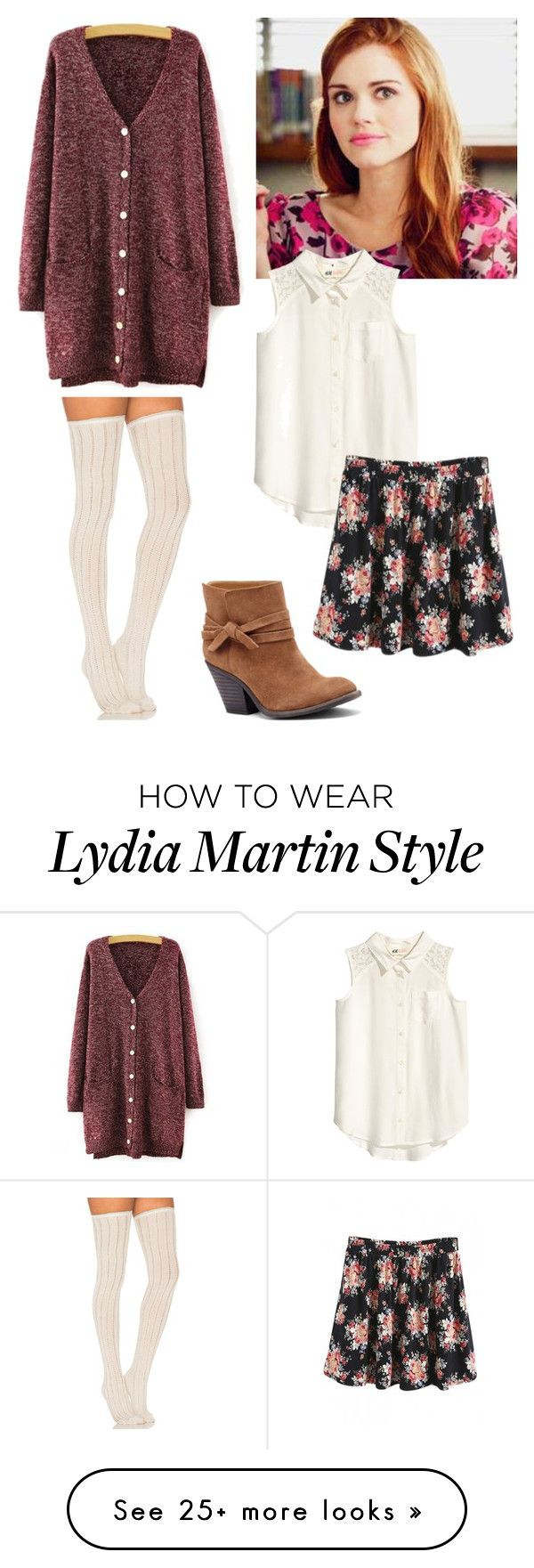 """""""Lydia Martin inspired"""" by fashionista-diva-983 on Polyvore featuring Free People, WithChic and Sole Society"""