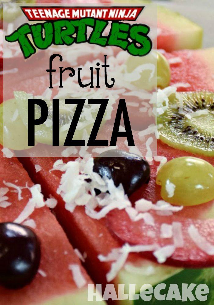 Teenage Mutant Ninja Turtle Fruit Pizza Turtles Fruit