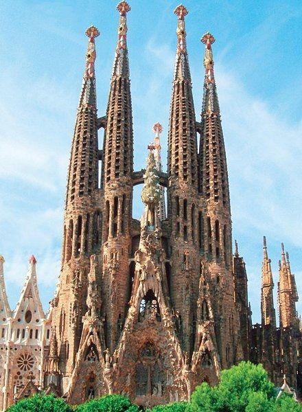 Sagrada Família - Barcelona, Spanien / Sagrada Família - Barcelona, Spain (Basílica i Temple Expiatori de la Sagrada Família)