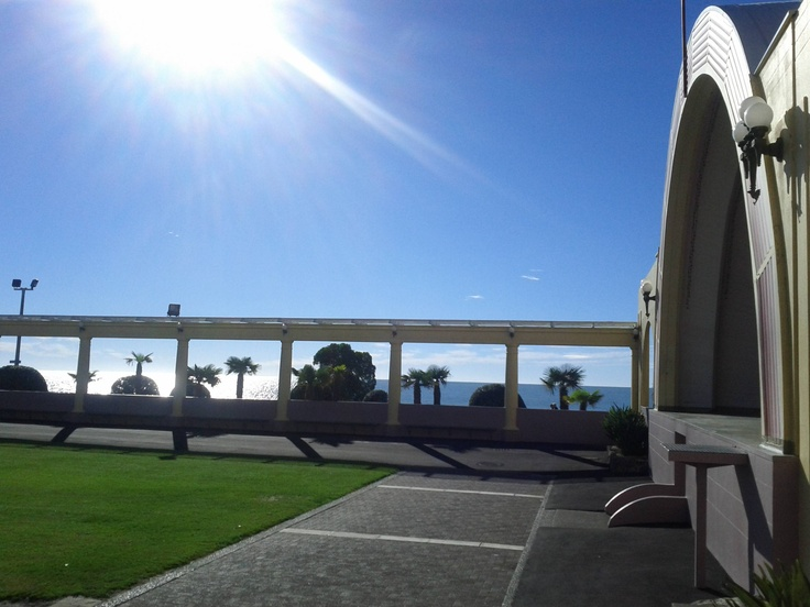 THE SOUND SHELL-A glorious morning in Napier. Art Deco capital of New Zealand