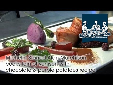 Alan Murchison from Alan Murchison Restaurants Cooks  Venison with Chocolate Sauce.