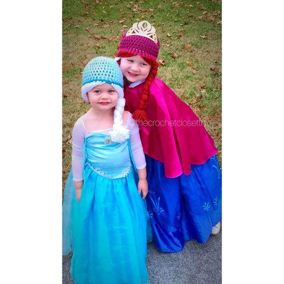 Congelés chapeaux  Congelés perruques  Anna par TheCrochetClosetTN