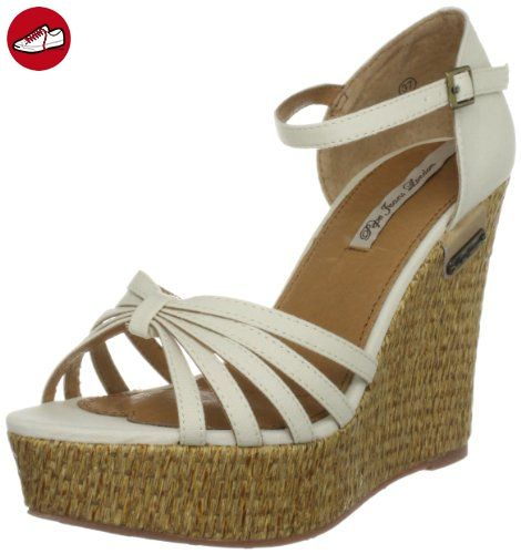 Pepe Jeans London COR-250 D, Damen Fashion-Sandalen, Elfenbein (Ecru), EU 41 - Sandalen für frauen (*Partner-Link)