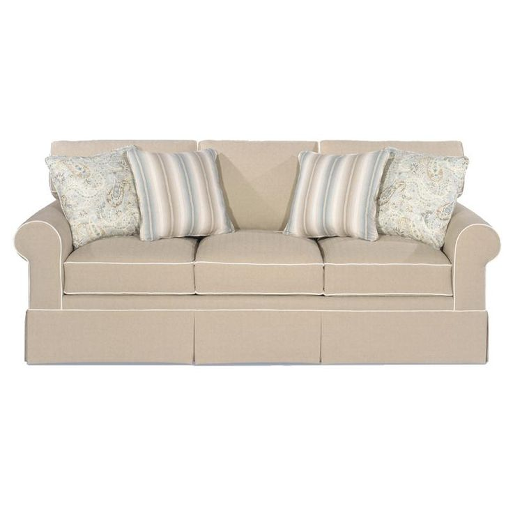 Paula Deen Home Sofa with Rolled Arms and Skirt by Paula Deen by Universal    Summer   Wolf FurnitureBeach FurnitureLiving Room  41 best livingroom images on Pinterest   Living spaces  Living  . Paula Deen Living Room Sofas. Home Design Ideas