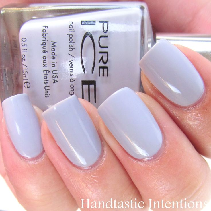 Handtastic Intentions: Swatch and Review of Pure Ice: Laven-Dare