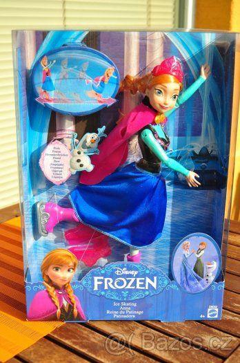 Panenka Disney Anna - Ledové království - bruskařka - 1