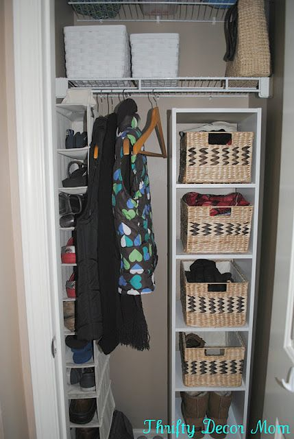 17 Best Images About Front Closet Organization On