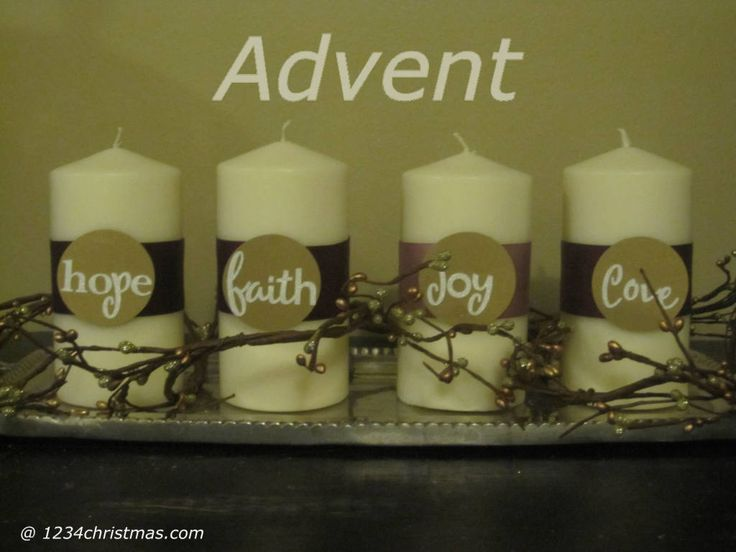 Advent Candles Images