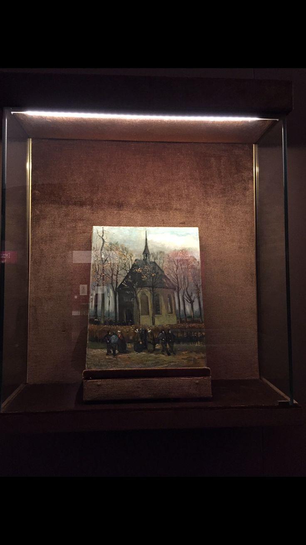The church in Nuenen Vincent Van Gogh