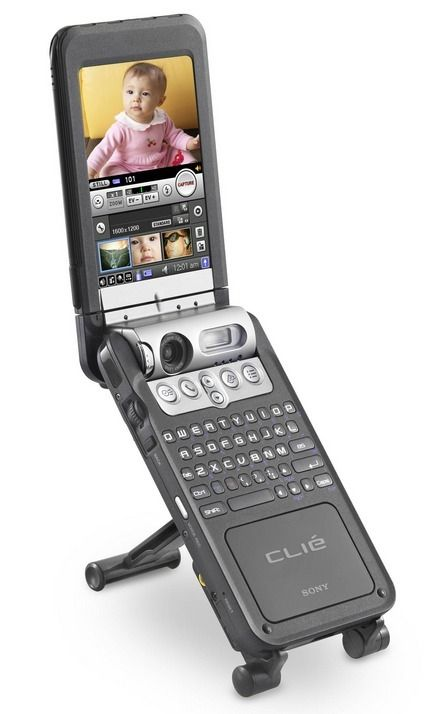 Sony Clié - PEG-NZ90    Manufacturer - Sony  Series - Clié  Years of production - 2003  CPU -Intel PXA250 200 MHz  Rom - 16 Mb  Ram - 16 Mb  Screen - 320x480 | 65K colors  Weighs - 293 gr  Operating System - Palm OS® version 5.0