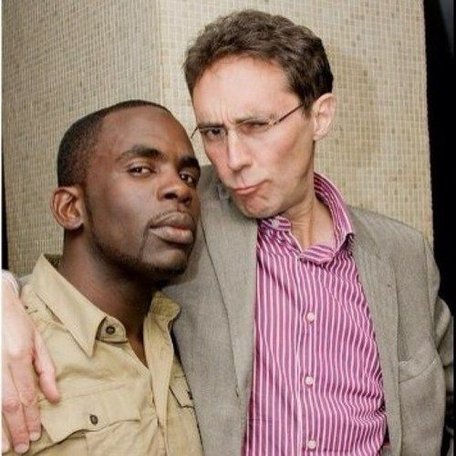 Guy and Jimmy... pouting!!! Holby City