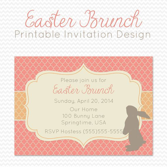 13 best easter dinner party invitations images on pinterest easter party invitation dinner party by printcreatecelebrate stopboris Image collections