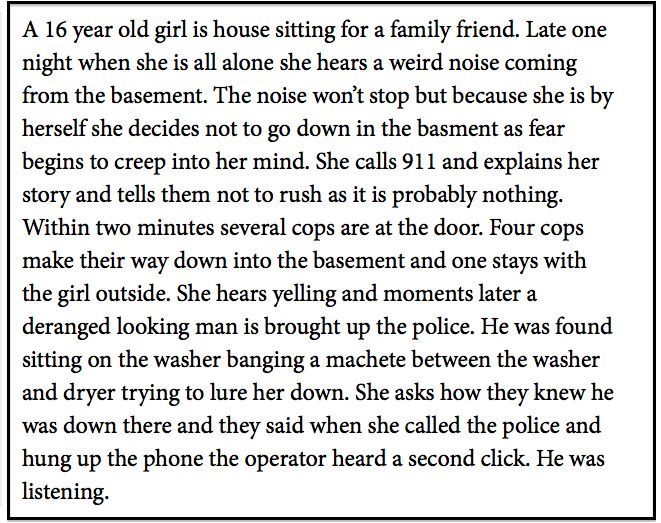 These are the scariest kind of stories