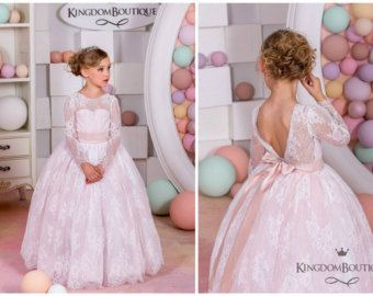 Briar patch flower girl dresses