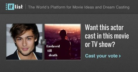 Douglas Booth as Andrew Creswell in Enslaved till death? Support this movie proposal or make your own on The IF List.