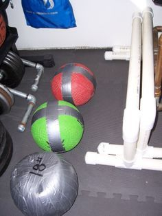 DIY crossfit equipment, lots of great ideas!