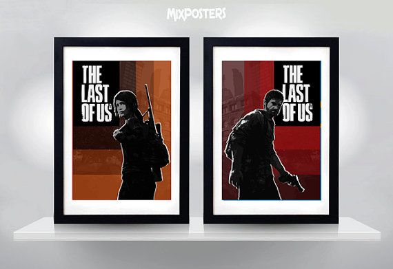 Hey, I found this really awesome Etsy listing at https://www.etsy.com/listing/171073047/the-last-of-us-ellie-joel-wall-art-print