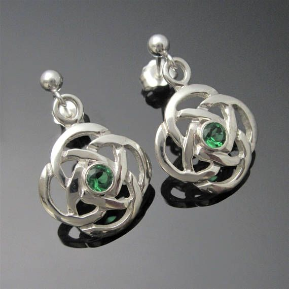 Check out this item in my Etsy shop https://www.etsy.com/ie/listing/535204001/celtic-knot-earrings-irish-celtic
