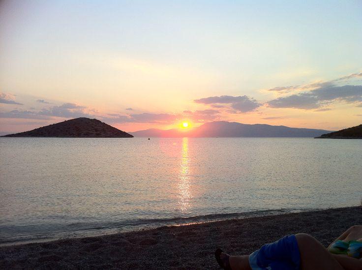 Ηλιοβασίλεμα στα Κανάκια