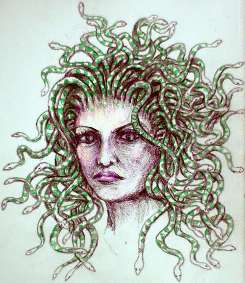 Greek Mythical Creatures Medusa 17 Best images about M...