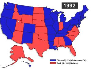 1992 Presidential Election Overview