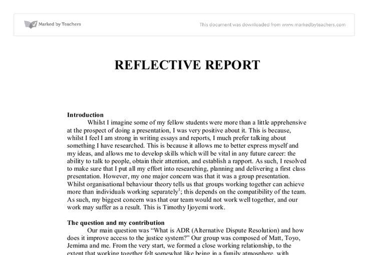 Reflective essay formatreflective essay template template template Resume CV Cover Letter #SampleResume #ReflectiveEssayFormat