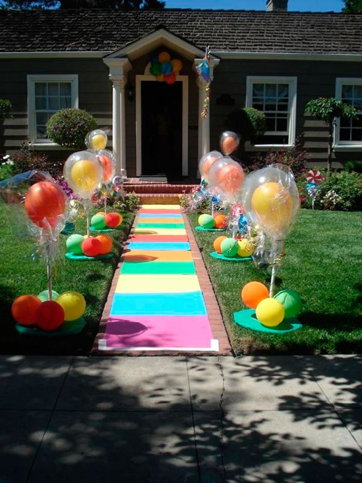 entrada colorida