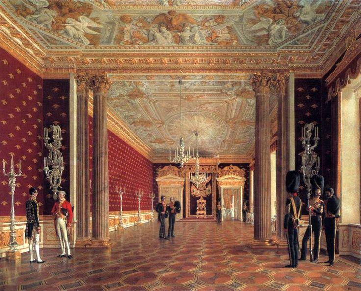 Тронный зал императрицы Марии Федоровны в Зимнем дворце