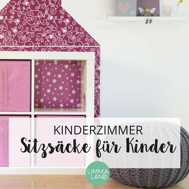 95 besten sitzs cke f r kinder bilder auf pinterest. Black Bedroom Furniture Sets. Home Design Ideas