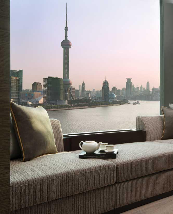 Banyan Tree Apartments: The View From A Panorama Room At Banyan Tree Shanghai On