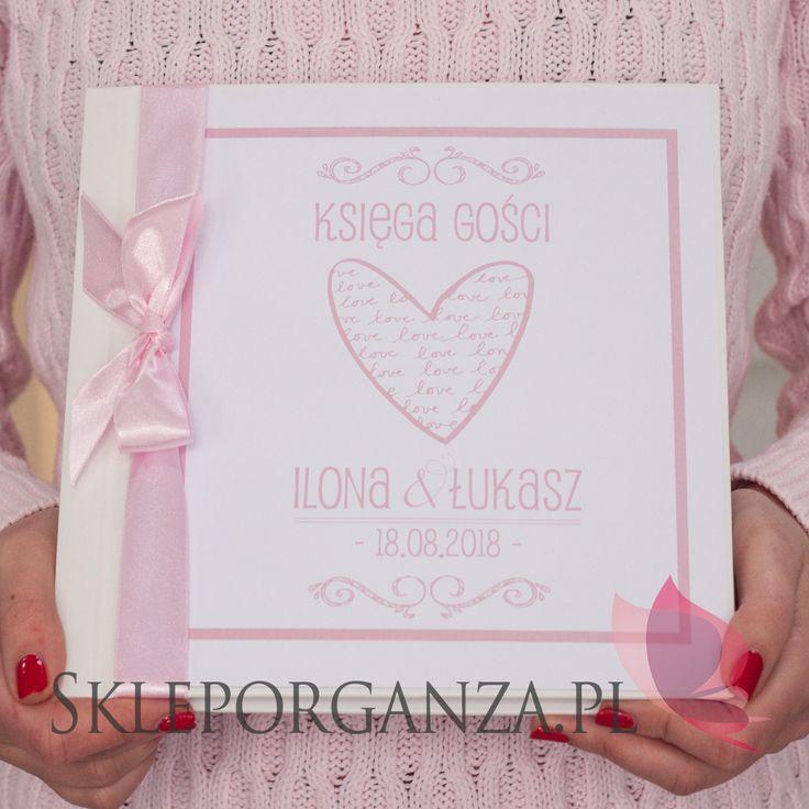 Personalizowana księga gości kolekcja LOVE
