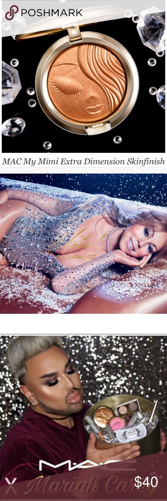 LE MAC x Mariah Carey Extra Dimension Skinfinish Authentic