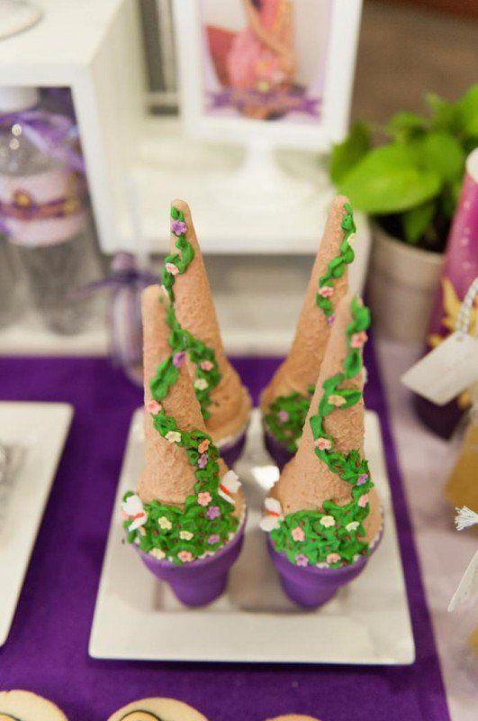 Fiesta de cumpleaños con temática de Rapunzel   i24Web