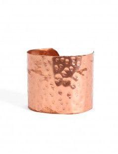 Βραχιόλι cuff από χαλκό