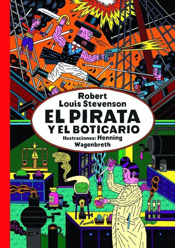 El pirata y el boticario es una historia en la que cabe la ironía, la crítica y el humor, entrelazados de forma magistral por Robert. L. Stevenson. Un relato en el que la moral -o la falta de ella- juega a disfrazarse y desafía continuamente a quien se enfrenta a su lectura. #librosjuveniles