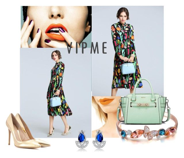 """VIPME - 10% OFF! Use COUPON CODE now!"" by passionforstyleandfashion ❤ liked on Polyvore featuring Lime Crime, Gianvito Rossi and vipme"