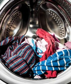 Is Washing Your Clothes Putting Plastic On Your Dinner Plate?   Particles washing off synthetic clothes are filling the oceans and leaking into the food system. Is your laundry destroying the environment? #refinery29 http://www.refinery29.com/dirty-laundry-pollutants