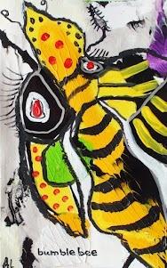 Bumblebee  EBAY http://myworld.ebay.com/annettelabedzki  WEBSITE http://www.labedzki-art.com/  PINTEREST http://pinterest.com/annettelabedzki