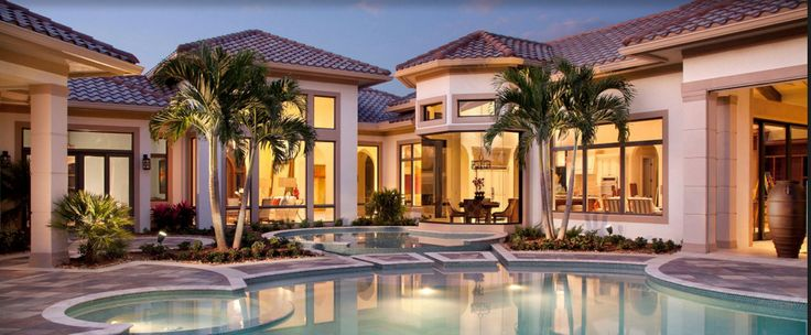 Mediterranean-inspired architecture, Spanish tile roofs, graceful archways, charming courtyards and intricate ironwork create the signature timeless beauty of Quail West's private res...