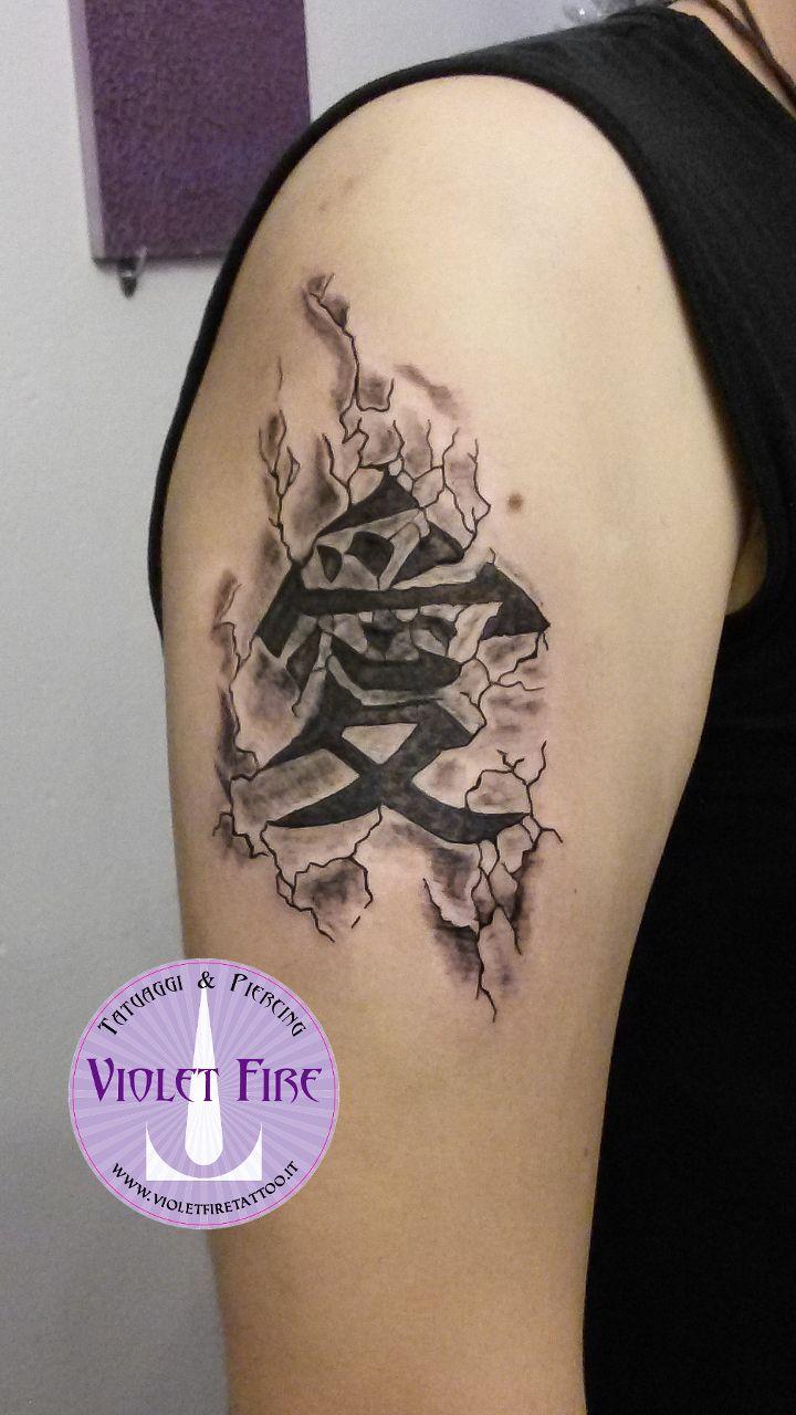 tatuaggio scritta, tatuaggio kanji, tatuaggio japan, Tatuaggio Giapponese Scritta kanji - Gaara Naruto - Violet Fire Tatto - tatuaggi maranello, tatuaggi modena, tatuaggi sassuolo, tatuaggi fiorano - Adam Raia