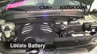 Headlight Change 2007-2012 Hyundai Santa Fe - 2009 Hyundai Santa Fe Limited 3.3L V6