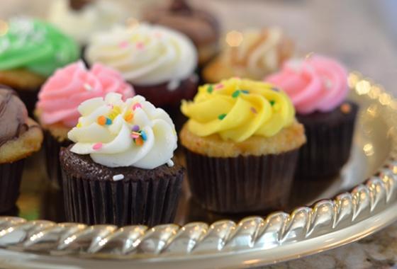 Mini cupcakes from Misha's Cupcakes in Miami