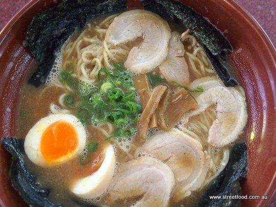 Gumshara Japanese Ramen ~ Shoyu Ramen - Eating World - Chinatown