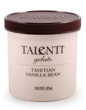 Talenti Gelato Tahitian Vanilla Bean. You will never be satisfied with any other vanilla after this!